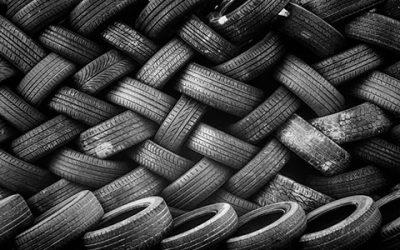 Los neumáticos de segunda mano no garantizan la seguridad en carretera